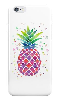 Our Watercolour Pineapple Phone Case is available online now for just £5.99.    Inspired by Caspar Lee, get this cute watercolour pineapple phone case to make your phone look fruity.    Material: Plastic, Production Method: Printed, Weight: 28g, Thickness: 12mm, Colour Sides: White, Compatible With: iPhone 4/4s | iPhone 5/5s/SE | iPhone 5c | iPhone 6/6s | iPhone 7 | iPod 4th/5th Generation | Galaxy S4 | Galaxy S5 | Galaxy S6 | Galaxy S6 Edge | Galaxy S7 | Galaxy S7 Edge | Galaxy S8 | Galaxy…