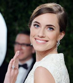 The exact Avon mascara that gave Allison Williams those lush lashes at the Vanity Fair Oscar party. Beauty Makeup, Hair Makeup, Hair Beauty, Allison Williams Wedding, Youre Like Really Pretty, Celebrity Makeup Looks, Hair Essentials, Gorgeous Makeup, Gorgeous Eyes