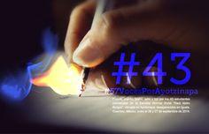 Dossier político poético y literario #43 #57VocesPorAyotzinapa. Descarga gratuita: http://www.laresistencia.mx/wp-content/uploads/2014/12/57Voces_18Dic2014.pdf