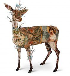 Les animaux en tapisseries de Frédérique Morrel