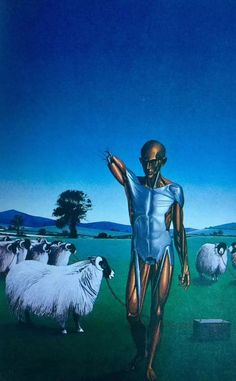 By Peter Goodfellow, for Philip K Dick's Do Androids Dream of Electric Sheep, 1982