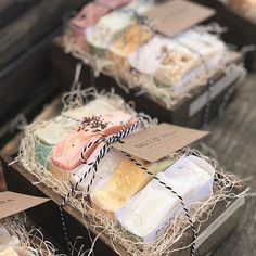 Cute presentation!! @saltandshea #soapcoldproces #soapmarkets #soapartisan #soap #coldprocess #soapsharess #soapart #soapandmore #soaplover