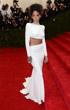 Rihanna in Stella McCartney at the Met Gala 2014