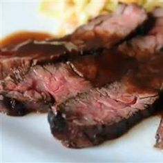 Grilled Coffee and Cola Skirt Steak | Yep, you read that right. Coffee and cola are the not-so-secret ingredients. Skirt steak is the perfect cut for this unusually tasty marinade.