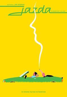 The Ride, Polish Movie Poster The Ride, Polish Movie Poster 4275 Designer: Joanna Gorska & Jerzy Skakun