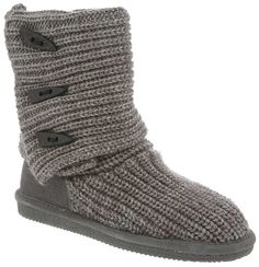 The Knit Tall Boot from BEARPAW is the epitome of cutting edge fashion craftsmanship and quality - you can wear these tall or folded down for a fun look.