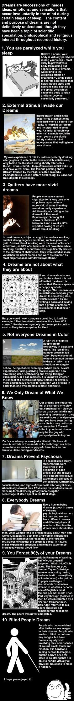 Top 10 Facts About Dreams