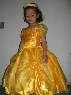Como hacer el vestido dela princesa bella - Imagui