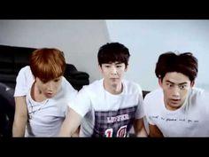 """¡2PM mostró su voraz apetito para """"Pelicana Chicken""""! Los integrantes del grupo 2PM realizaron un comercial para """"Pelicana Chicken"""" y luego hicieron un video en el que saludaron a HOTTEST por el nu..."""