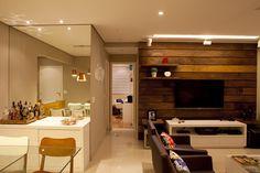 som e luzes tv GABRIELA MARQUES ARQUITETA: apartamento pequeno