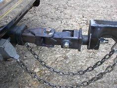 Trailer off road hitch