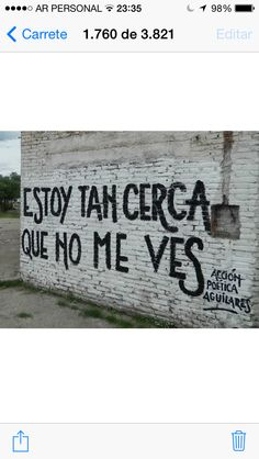 Acción Poética Tucuman Philosophy Quotes, Wall Quotes, Sentences, Street Art, Reading, Words, Life, Motivational, Thoughts