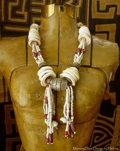 For years I've attended bead shows, sometimes working in the booths of dealersoffering tribal beads and elements. As early as the late 198...