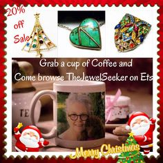 Check out the gift ideas in my #etsystore Use Coupon code: holidays2015 for 20% off your total order!!! #vintage #jewelry #photochallenge #vintagefallfashion #holidays #giftsforher #giftideas
