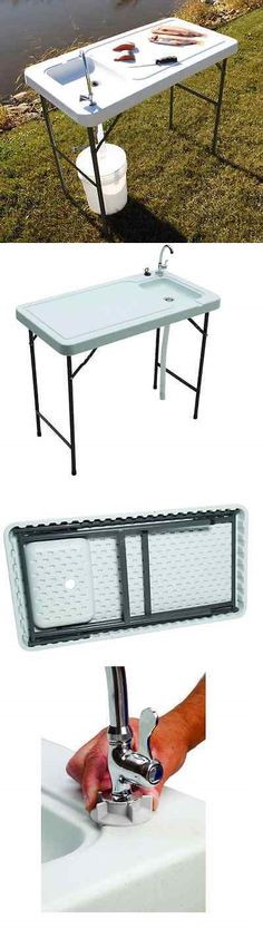 Fillet Tables and Cutting Boards 161823: Fish Cleaning Table ...