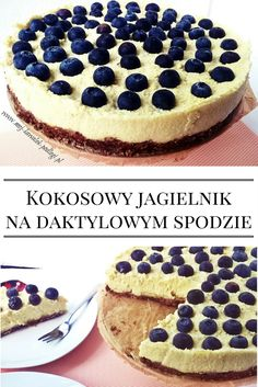 Sweet Desserts, Sweet Recipes, Vegan Recipes, Dessert Recipes, Cooking Recipes, Vegan Cheesecake, Vegan Cake, Healthy Deserts, Healthy Sweets