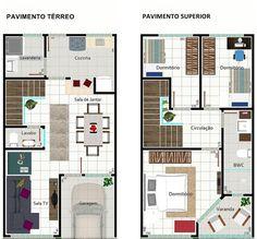 Para quem está pensando em construir um imóvel para alugar, poderá conferir 5 modelos de sobrados geminados para ter uma ideia de construção.