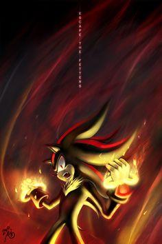Dark Shadow the Hedgehog | Shadow Escape the Fetters - Shadow The Hedgehog Fan Art (30702584 ...