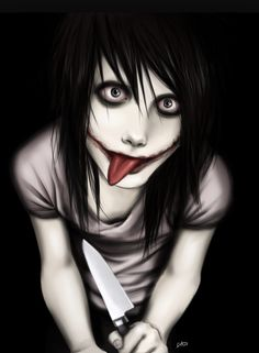 Jeff the Killer from the Creepypasta family