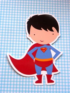 32 Recortes Super Homem. para tubete