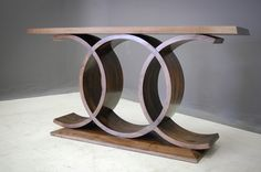 Caracole Furniture, Console Furniture, Gold Furniture, Art Deco Furniture, Furniture Design, Console Table Living Room, Hall Console Table, Wooden Console, Modern Industrial Furniture