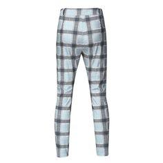 Plaid Skinny Hip Hop Pants NA01 – iawear Plaid Pants, Slim Fit Pants, Body Size, Long Pants, Body Shapes, Hip Hop, Men Casual, Mens Fashion, Skinny
