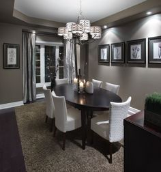 Model home dining room #2