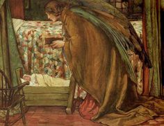 Eleanor Fortescue-Brickdale (1871-1945).   How touching is this?