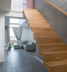 schody drewniane Stairs, Home Decor, Stairway, Decoration Home, Room Decor, Staircases, Home Interior Design, Ladders, Home Decoration