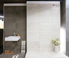 tile- Sangah's - MARNE 30x60 #tile #tiles #sangahtile #interior #design #interiordesign #modern #natural #bathroom #상아타일 #모던 #내추럴 #전시장 #욕실  부드럽고 몽환적인 느낌이 표현된 MARNE가 새로운 컬러로 출시되어 좀더 따듯한 욕실의 이미지로 시공해 보았어요~