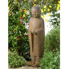 Garden Jizo Statue At DharmaCrafts | Buddha Statues | Pinterest | Gardens