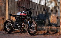 Honda 'Super Cobra' by Lucky Custom Cafe Racer Parts, Cafe Racer Style, Cafe Racer Bikes, Cafe Racers, Tracker Motorcycle, Scrambler Motorcycle, Motorcycle Style, Motorcycle Quotes, Street Tracker