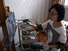 Saatchi Art | One to Watch: Han Xiao http://magazine.saatchiart.com/articles/artnews/saatchi-art-news/one-to-watch/han-xiao