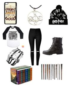 """""""Harry Potter Simply Because He Is Awesome"""" by theweirdone003 on Polyvore featuring Bamboo, women's clothing, women, female, woman, misses and juniors"""