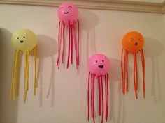 #Balloon octopus/ jelly fish -#decorations for #octonauts #party