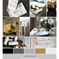 Inspire. Palette #109 Golden Pear ❤ liked on Polyvore featuring home and home decor