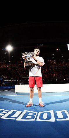 Congrats to Stanislas #Wawrinka on his 1st Grand Slam title!