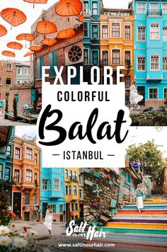 Istanbul's Must-See Area – the Colorful Houses of Balat balat istanbul turkey europe citytrip hiddengems homedecor traveltips traveldestinations Turkey Europe, Turkey Travel, Turkey Destinations, Travel Destinations, Visit Turkey, Istanbul Travel, Colorful Houses, Most Beautiful Cities, Plan Your Trip