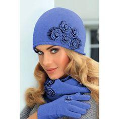 Wełniana czapka damska Eleonora