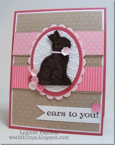 Stampin' Up! Easter by LeAnne P at WEEinklings