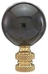 B Lamp Black Ceramic Finial - traditional - accessories and decor - Amazon