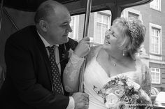 Wedding day bus ride. Taken by Mark Huntley Wedding Photography www.markhuntley.co.uk #Eastbourne #EastSussex