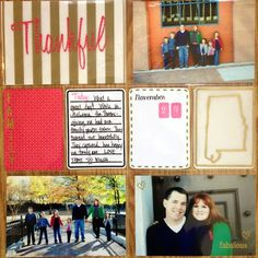 Project Life layout created by @ashley_harris using the Starter, Months, Today and Journal Spot stamps!