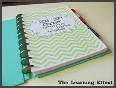 The Learning Effect: My 2013-2014 Chevron Teacher Planner