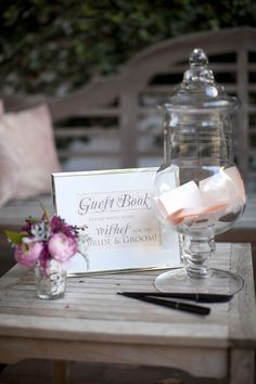 wishes idea - for guest book