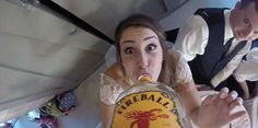 Someone Stuck A GoPro To A Whiskey Bottle And Passed It Around At A Wedding
