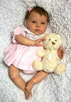 Beautiful Reborn baby girl by DaintyFaceBabies on Etsy