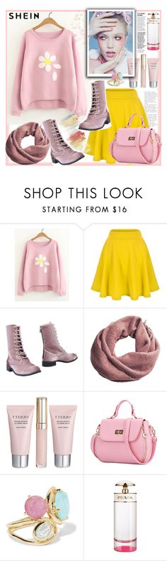 """""""Shein"""" by natalyapril1976 on Polyvore featuring Mode, CUPLÉ, MANGO, By Terry, WithChic, Ippolita und Prada"""