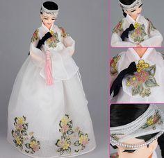 Korean Doll Wearing #Hanbok