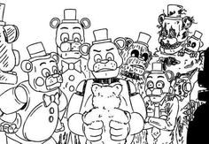 Freddy and freddy's and the bear xD